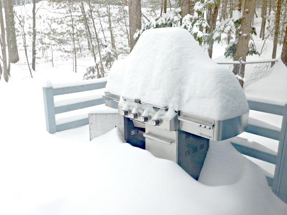 snow grill
